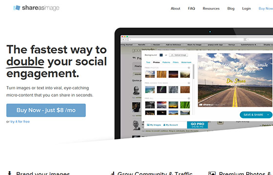 Social Media Tools - Share As Image