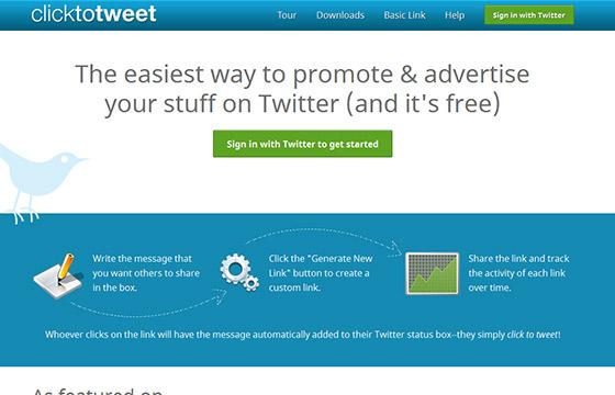 Social Media Tools - Click to Tweet