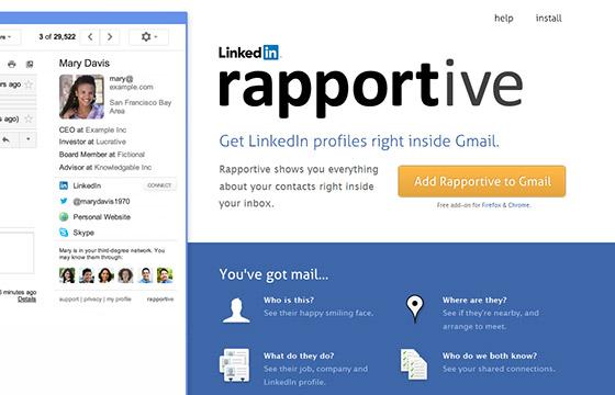 Social Media Tools - Rapportive