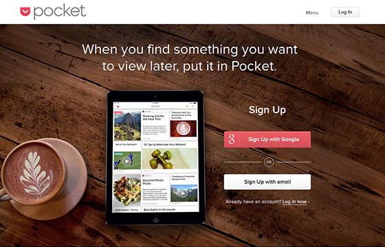 Social Media Tools - Pocket