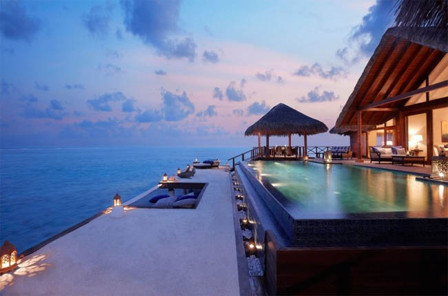 Step pool with the incredible view.