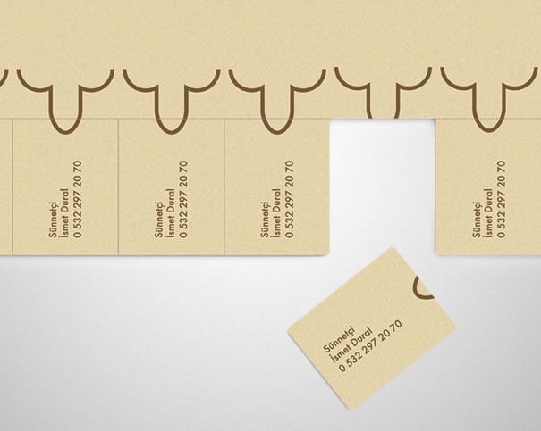 A circumciser's cheeky business card.