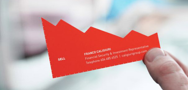 Buy/Sell Investment Representative Business Cards