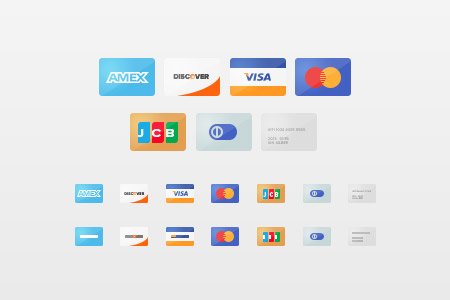 Payment Gateway and Credit Card PSD Designs