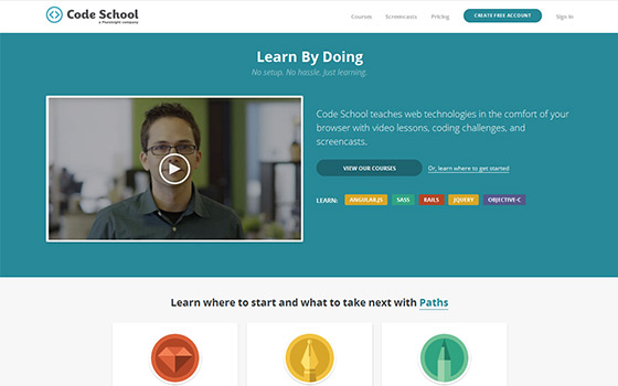 Unconventional ways to learn web design and development - Online Classes
