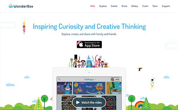 New Creative Single Page Website Design