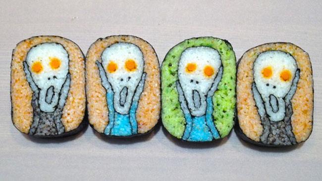 The Scream Sushi