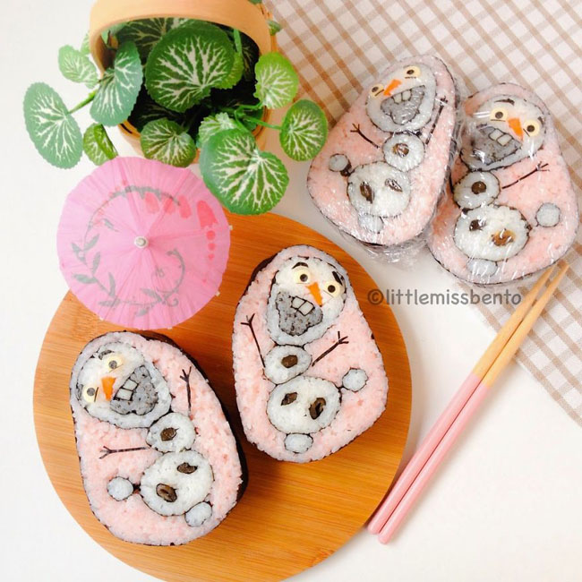 Olaf Sushi Art Roll