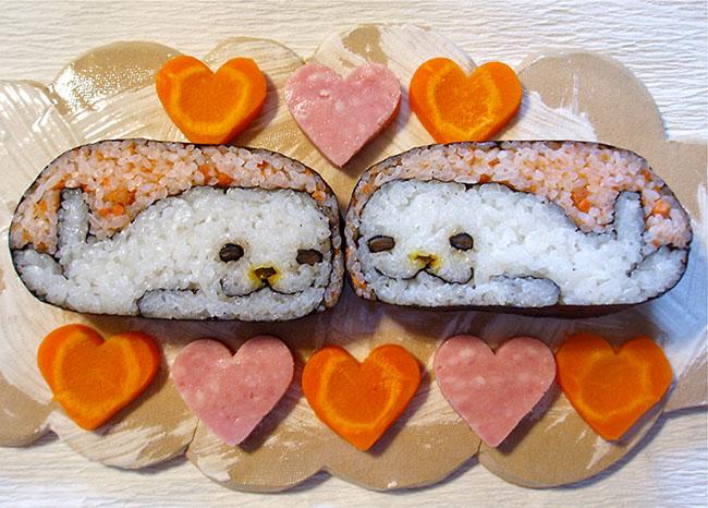 Cute Whale Sushi