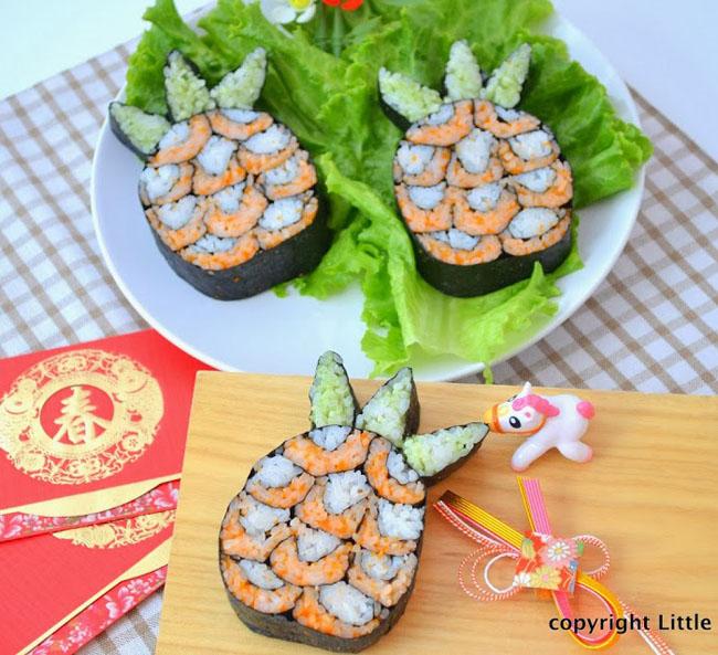 Pineapple Sushi