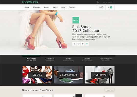 Website Design Template PSDs