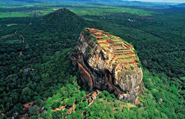 The Lion Mountain, Sri Lanka