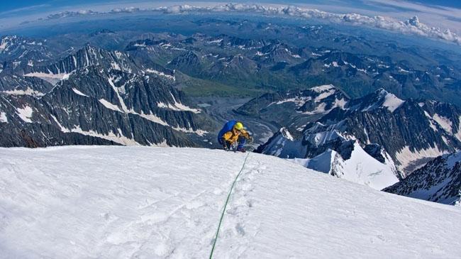 Highest point of Siberia, Belukha, Russia