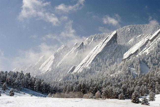 Rocky mountains of Colorado
