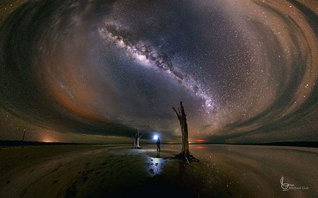 Night Sky in Lake Dumbleyung, Western Australia