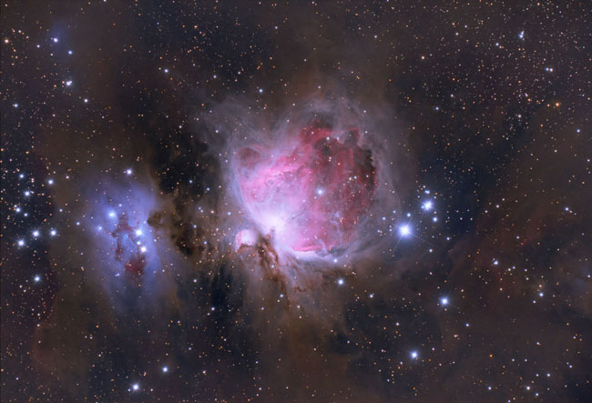Queen Of The Sky - Great Nebula In Orion