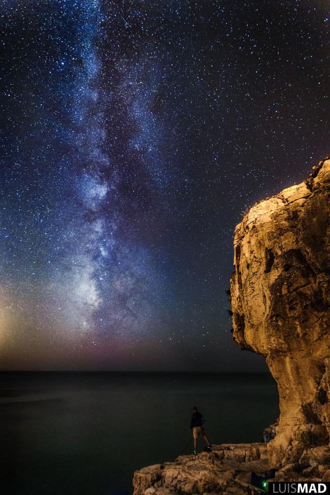 Fisherman Milky Way