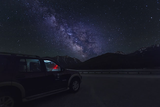Night Sky in Montana