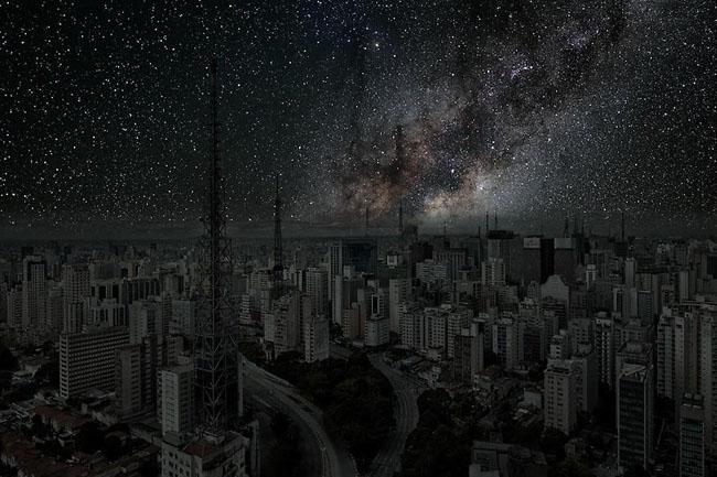 Night Sky in Sao Paulo