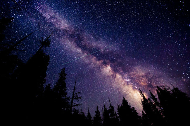 Yosemite's night sky