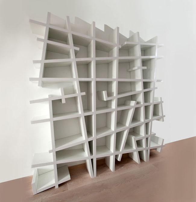 Crazy Bookshelve