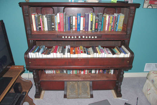 Bookcase From An Old Organ