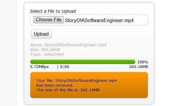 Free HTML5, CSS3, AJAX, jQuery Upload File Scripts