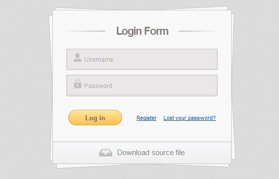 Free HTML5 And CSS3 Login, SignUp Forms