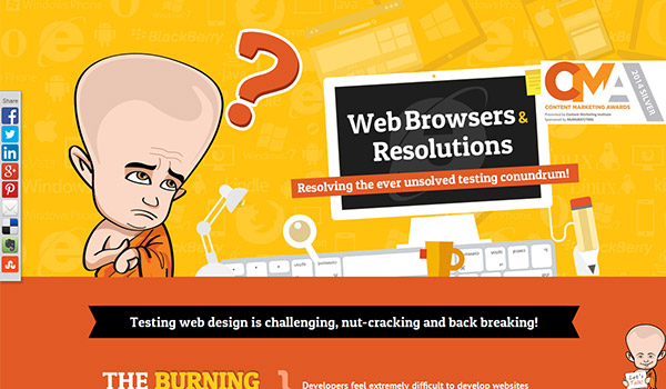 Web Browsers & Resolutions by Webby Monks