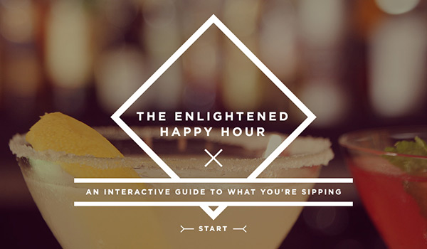 The Enlightened Happy Hour: An Interactive Guide to What You're Sipping by Column Five