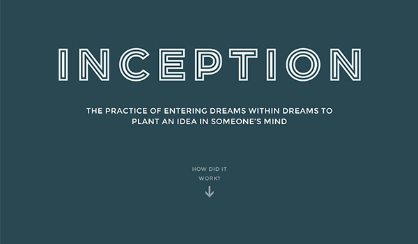 Inception Explained by Togethera