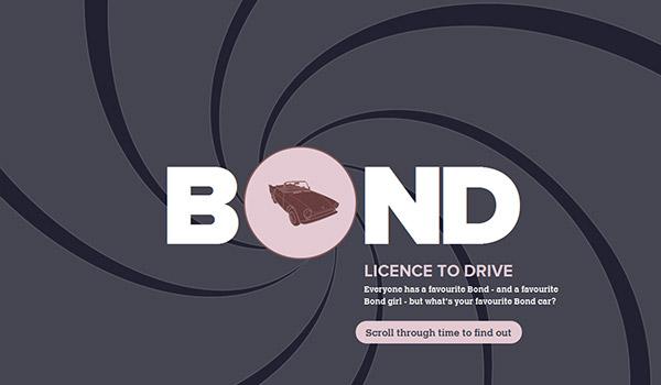 Bond: License to Drive