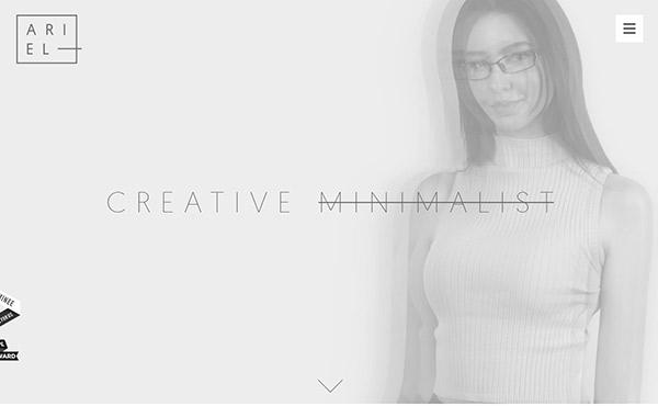New Brilliant Single Page Website Design