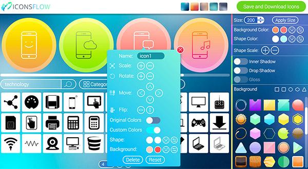 Iconsflow