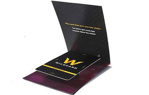 Wildcard Pop-up Business Card