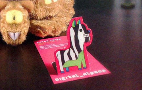 Business Card - Digital Alpaca
