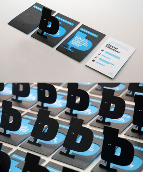 Base One Popup Business Cards