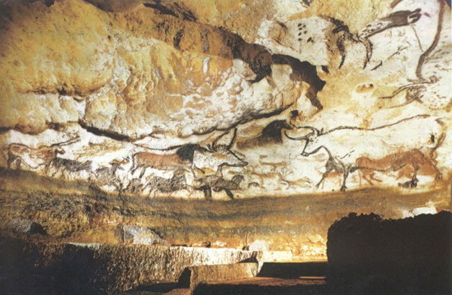 Archaeologists discover some of the oldest artworks known to man in Dordogne, France - over 12,000 years old. [2001]