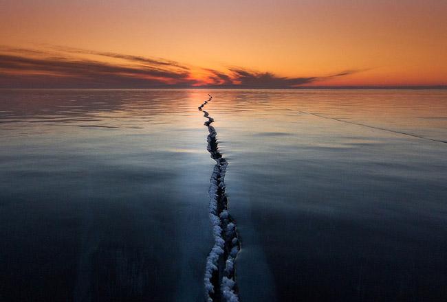 Cracking The Surface, Lake Baikal