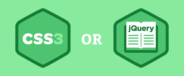 CSS3 and jQuery - How Powerful They Are?