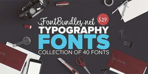 Typography Fonts Bundle