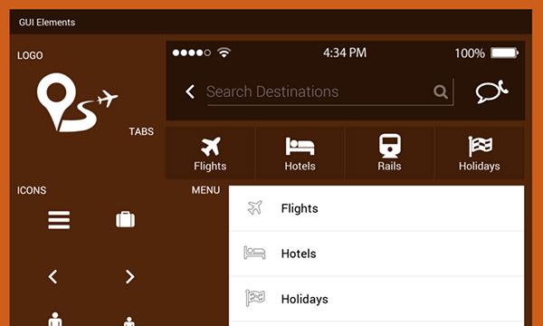 Android Travel App UI Kit