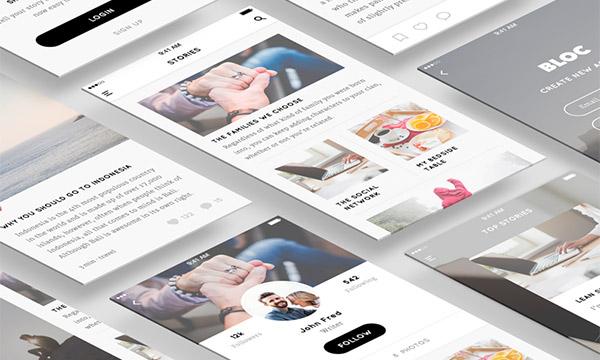 Sketch Blog UI Kit