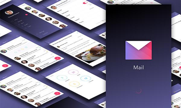 Free Ui kit for mail app