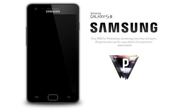 Free Samsung Galaxy Smartphones Mockup PSD Designs