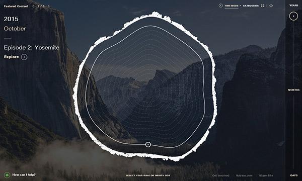 Unusual Navigation in Website Designs