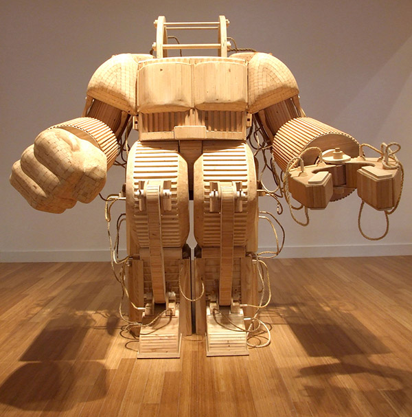 Wooden Technology by Michael Rea