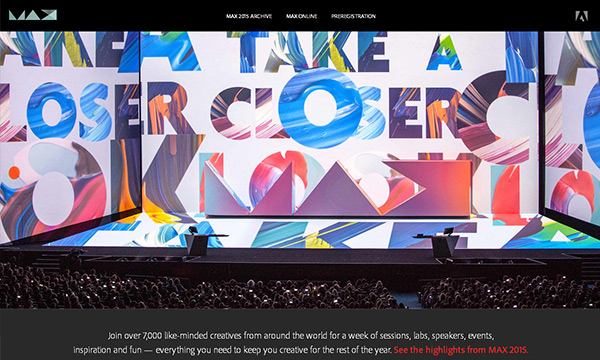 Adobe MAX 2016