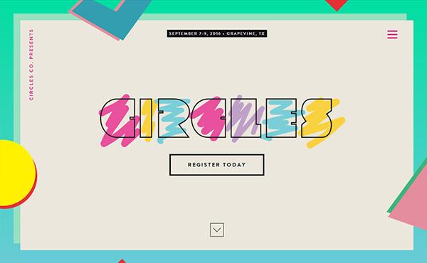 New Innovative Single Page Website Design