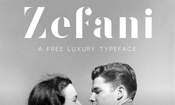 Zefani Typeface
